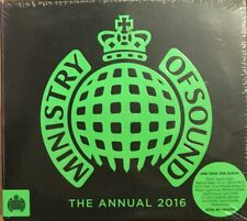 Ministry of Sound  The Annual 2016 - 3 CD Set (Green Cover Version) -New Sealed.