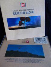 DEPECHE MODE - MUSIC FOR THE MASSES - OZ CD INC 4 X BONUS TRKS -LIKE NEW #D30438