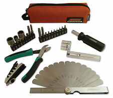 CruzTOOLS Groovetech stagehand Tech Compact Tool Kit per Riparazione Chitarra & Bass