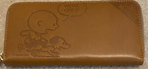 SNOOPY 70TH ANNIVERSARY LEATHER WALLET