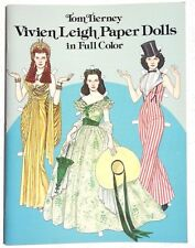 NEW Vtg 1981 VIVIEN LEIGH Tom Tierney (Dover) Paper Dolls Book / Booklet