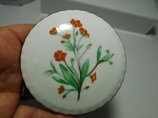 Royal Kent Bone China Round Lidded Floral Trinket Box Staffordshire England