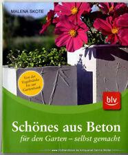 Schönes aus Beton für den Garten - selbstgemacht v. Malena Skote 9783835407312