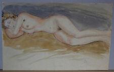 """Anton Storch (1892-1972) - """"Frauenakt Liegend"""""""