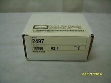Rauland-Borg OEM Spare Clock / Timer Parts #2497 *Sealed NOS*