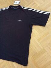 »adidas« original 90er Jahre true VINTAGE T-Shirt - Größe: XL - Schwarz/Weiß