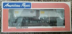 American Flyer 4-9005 S Scale New York Central Flatcar w/Trailers LN/Box
