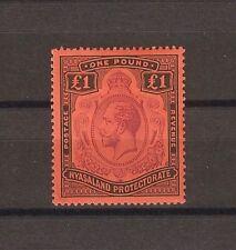 NYASALAND 1913-21 SG 98 MLH Cat £200