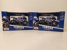 1:18 1/18 Maisto Moto GP Motorcycle YAMAHA factory racing #11 SPIES #1 LORENZO