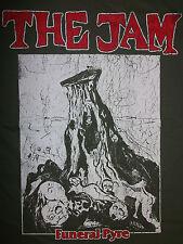 THE JAM Funeral Pyre OFFICIAL T-Shirt KBD Punk PAUL WELLER Powerpop STYLECOUNCIL