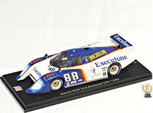1:43 Spark US067 March 83G, 2nd 24hrs Daytona 1983, #88