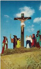 "Vintage Postcard - Black Hills Passion Play - ""The Crucifixion"" - Vg - Pm 1964"