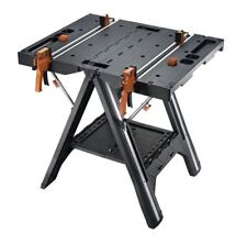 Work Table Folding Quick Clamps WORX WX051 Pegasus Loads Up To 1000 Pounds Tools