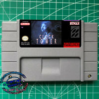 CLOCK TOWER -SNES Game English version FREE SHIPPING