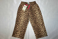 NWT LUCKY BRAND GIRLS KIDS TODDLER GORGEOUS LEOPARD  PANTS SIZE 2T 3T 4T