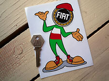 FIAT Happy Chappy Sticker Punto Abarth Coupe Panda X19