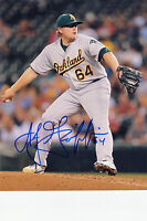 AJ GRIFFIN SIGNED OAKLAND A's 8 x10 PHOTO AUTO COA AUTOGRAPH ATHLETICS