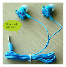 3.5mm Jack Cartoon Earphone Earbuds for iPhone iPad mini Samsung iPod HTC Touch5