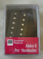 Seymour Duncan Nero Alnico 2 collo Pick-up Si Adatta Gibson Les Paul 335 SG Explorer