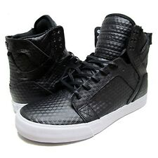 NEW SUPRA SKYTOP BLACK WHITE SURF SKATEBOARD HIP HOP SPORTS SHOES 11