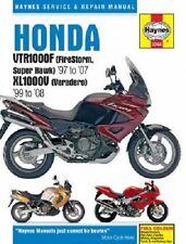 HAYNES SERVICE MANUAL HONDA VTR1000F FIRESTORM 1997-2007 & SUPER HAWK 1998-2005