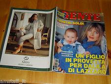 GENTE=1992/44=DALILA DI LAZZARO=RUDOLF NUREYEV=VALENTINA FORTE=LUIGINA GILIBERTI