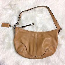 Coach Tan Leather Purse Handbag