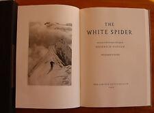 (montagne) The White Spider Heinrich HARRER 1993.1/300, numéroté, signé. Reliure