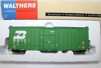 WALTHERS HO SCALE GUNDERSON 50' HI-CUBE BOX CAR - BN #287124 (932-7101)