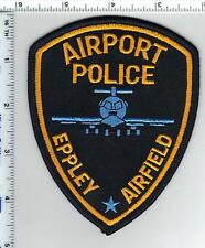 Eppley Airfield Airport Police (Nebraska) Shoulder Patch from the 1980's - RARE