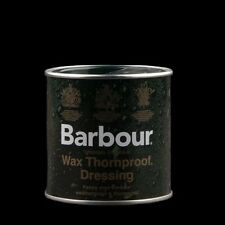 BARBOUR CERA TIN thornproof IMPERMEABILE ri-Waxing, FAST UK & spedizione internazionale