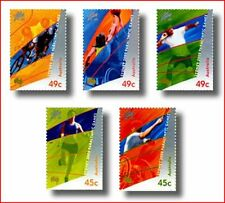 AUS0013 Sydney Olympics in 2000 5 stamps MNH AUSTRALIA 2000