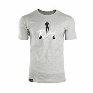 Men Gym T-shirt  Muscle Summer Fitness Cotton O-Neck Bodybuilding  Clothes Sport