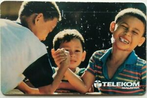 Malaysia Used Phone Cards - Children of Today, Our Hope for Tomorrow