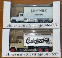 American Heritage Models AMH Edelweiss Lion Box Truck Custom Paint LOT 2