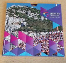 More details for 8 coin gibraltar island games currency set 2019 in presentation folder