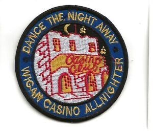 NORTHERN SOUL : WIGAN CASINO ALL NIGHTER -  Embroidered Iron Sew On Patch