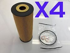 4x Oil Filter Suits R2596P SSANGYONG ACTYON KORANDO KYRON MUSSO REXTON STAVIC