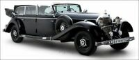 MCG 18207 MERCEDES 770 W150 CONVERTIBLE diecast model car Black 1938 1:18 Hitler