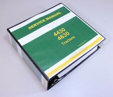 Heavy equipment manuals books for yanmar tractor ebay service manual for john deere 4430 tractor repair technical shop book fandeluxe Choice Image