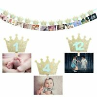 Baby Shower DIY Photo Frame Paper Picture Holder For Birthday Party Decorations