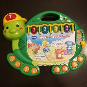 VTech Touch and Teach Turtle Educational Learning Toy ABC's Music Reading