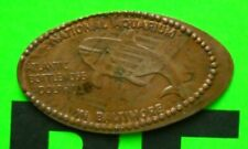 National Aquarium elongated penny MD USA cent Atlantic Bottle Nose Dolphin coin
