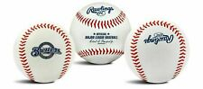 Rawlings Milwaukee Brewers Team Logo Manfred Mlb Baseball Autograph Style