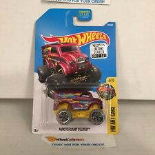 Monster Dairy Delivery #62 * PURPLE * 2017 Hot Wheels FACTORY SET * HF3