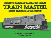 Reading Railroad Fairbanks-Morse TRAIN MASTER Diesel-Electric Locomotives, NEW