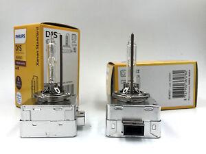 2x New OEM 08-12 Saab 9-3 HID Xenon Philips D1S Headlight Bulb 19351942