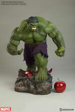 "Incredible Hulk 20"" 1/4 Scale Premium Format Exclusive Statue Sideshow Marvel"