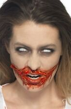 Halloween Fake Blood & Liquid Latex Kit Special FX Make Up Zombie Fancy Dress