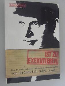 ..ist zu Exekutieren  Ein Steckbrief der deutschen Klassenjustiz Ernst Thälmann